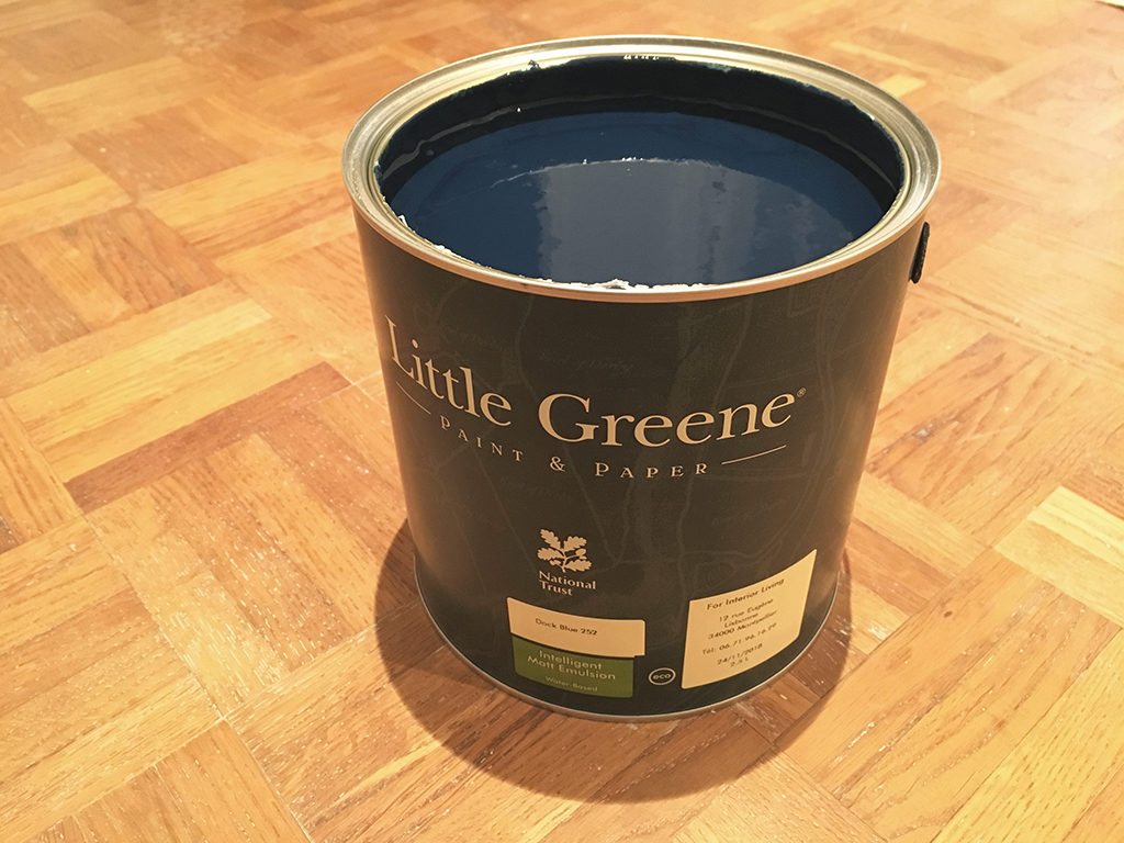 For interior living peinture Little Greene
