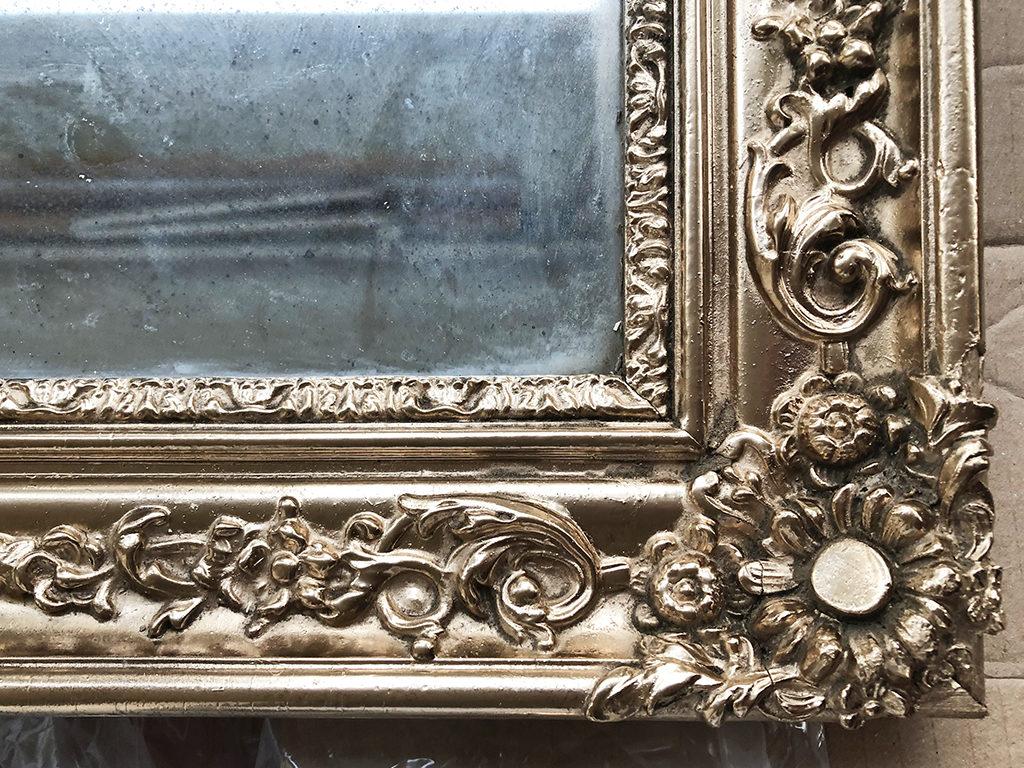 Zoom sur Le miroir après rénovation