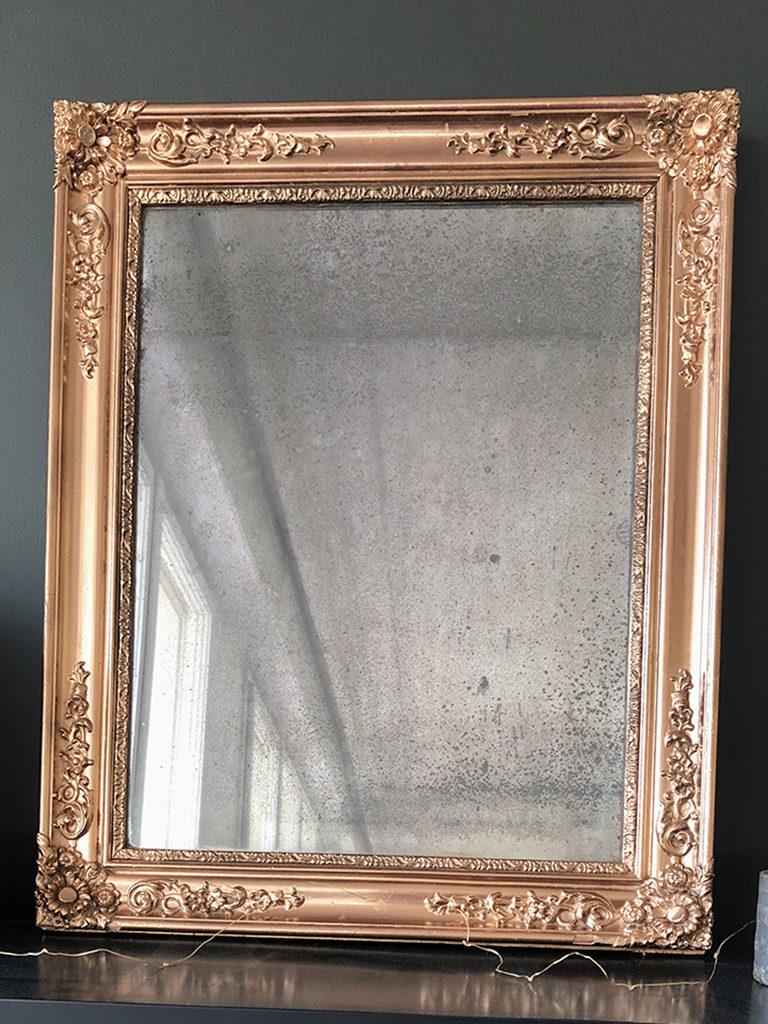 Le miroir après rénovation