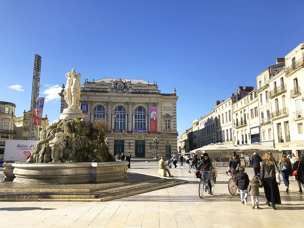 La Comédie Montpellier les 3 Grâces