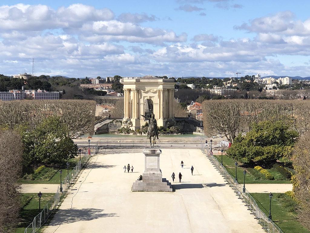 Place du Peyrou Montpellier