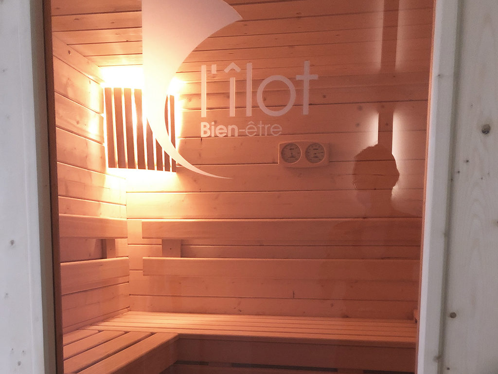 Sauna îlot bien être
