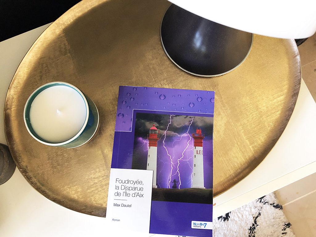 Foudroyée, la disparue de l'île d'Aix livre éditions Nombre7