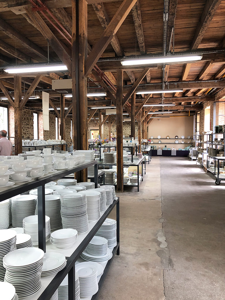 magasin d'usine Bernardaud